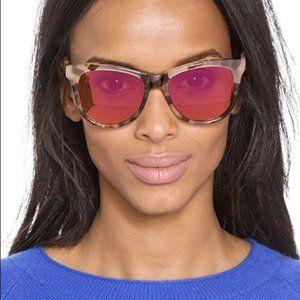 Wildfox Catfarer Deluxe Sunglasses-antique leaves